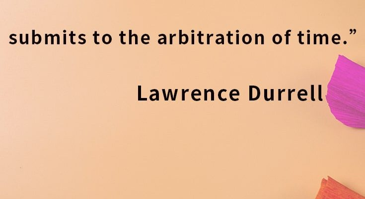 The richest love is that which submits to the arbitration of time.